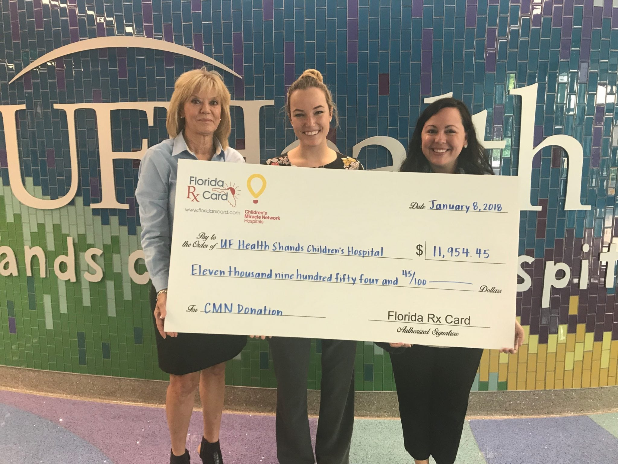 Florida RX Card Proudly Supports UF Health Shands Children's Hospital