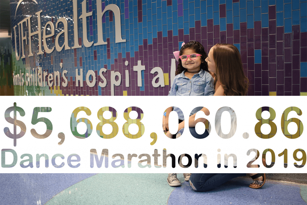 Collegiate Dance Marathon Programs close out another remarkable year for UF Health Shands Children's Hospital!
